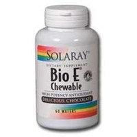Solaray Bio E Chewable Delicious Chocolate - 60 Wafers