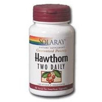 Solaray Hawthorn Two Daily - 60 Capsules - Other Herbs