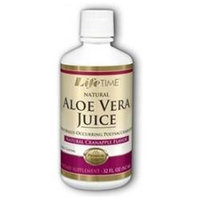 Aloe Vera Juice - Cranapple Flavor, 32 oz, LifeTime