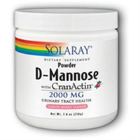 Solaray D-Mannose with CranActin Lemon Berry - 216 g