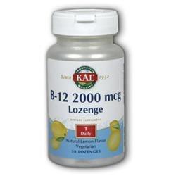 KAL Vitamin B-12 2000 MCG - 50 Lozenges - Vitamin B-12