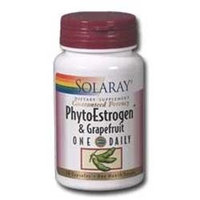 Solaray PhytoEstrogen with Grapefruit One Daily - 30 Capsules