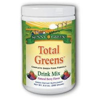 Solaray Total Greens Drink Mix - 8 Ounces Powder - Other Green / Super Foods