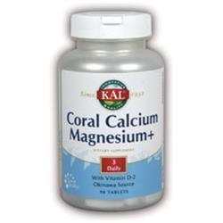 KAL Coral Calcium Mag + - 90 Tablets - Calcium Combinations
