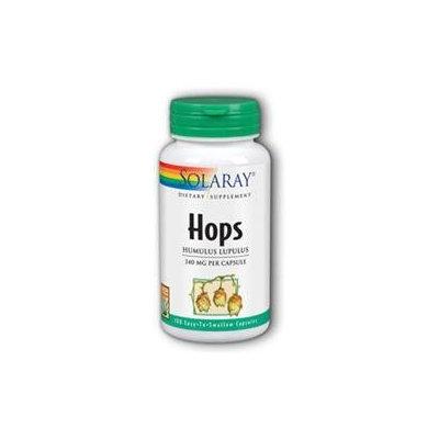 Solaray Hops - 100 Capsules