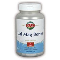 Kal Calcium Magnesium Boron - 100 Tablets