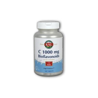 Kal C 1000 Bioflavonoids - 1000 mg - 100 Tablets