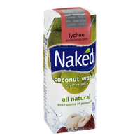 Naked Coconut Water + Lychee Juice