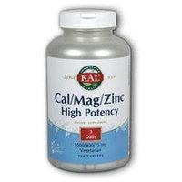 KAL Cal-Mag-Zinc - 250 Tablets - Calcium Magnesium