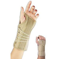 Bsn Medicals Wrist Brace Soft Fit, Right Fits Wrist, Size: 5.5 X 6.5