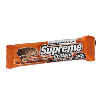 Supreme Protein Whey Isolate Caramel Nut Chocolate