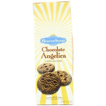 Heaven Scent Cookies, Chocolate Angelica, 5.75-Ounce Packages (Pack of 6)