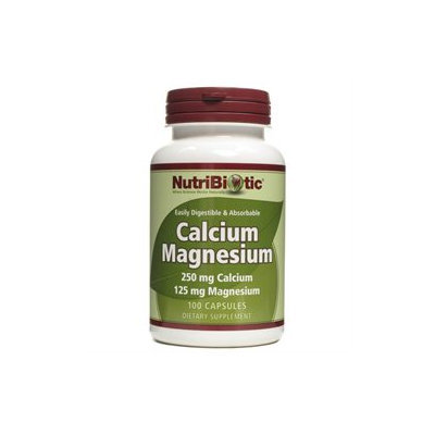 Nutribiotic - Calcium Magnesium - 100 Capsules CLEARANCE PRICED
