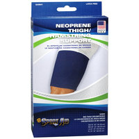 Sportaid, Thigh Support, Slip - On Neoprene, Blue, X-large, Size: 24