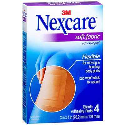 Nexcare Soft Fabric Adhesive Pad