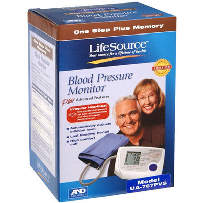 A & D Engineering Lifesource Automatic Blood Pressure Monitor with Small Cuff