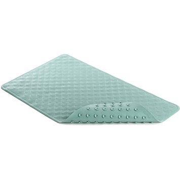 Con-Tact Brand Shells Rubber Bath Mat, Sea Foam, 2'4