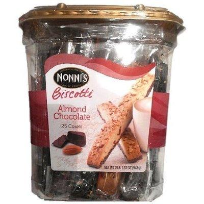 Nonni Almond Chocolate Biscotti, 2.07-Pound, 2 lbs 1.25 oz