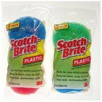 3m Scotch-Brite Multi-Purpose Plastic Scrubbing Pads 215FW