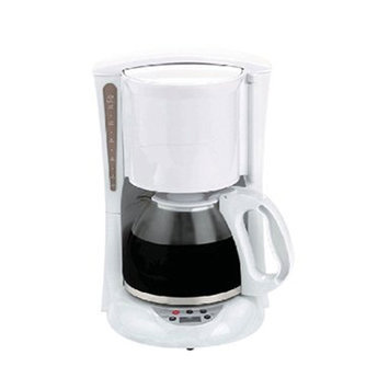 Brentwood Appliances TS-218W 12-Cup Digital Coffee Maker - White