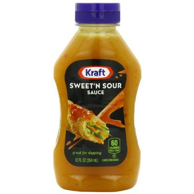 Sauceworks Kraft Sweet & Sour Sauce, 12-Ounce Squeeze Bottles (Pack of 6)