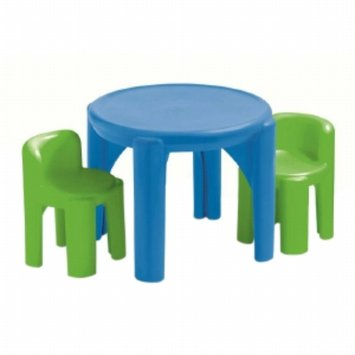 Little Tikes Bold 'n Bright Table & Chairs, 1 ea
