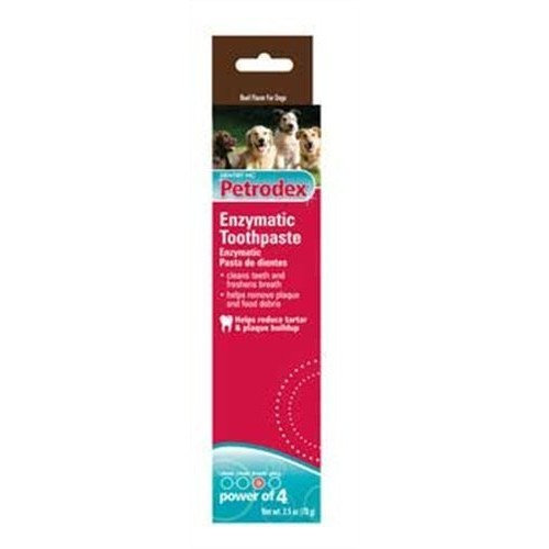 Petrodex 51201 Enzymatic Toothpaste for Dogs - Beef Flavor