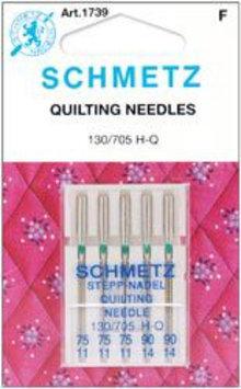 Euro Notions Quilt Machine Needles-3-75, 2-90 5/Pkg