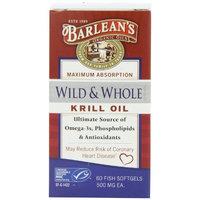 Wild & Whole Krill Oil Barlean's 60 Caps