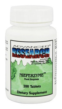 Advanced Research - Nieperzyme Food Enzymes - 200 Tablets