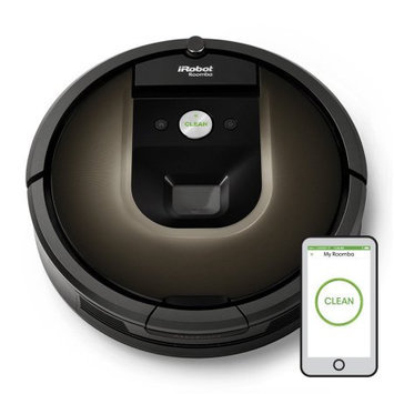 iRobot® Roomba® 980 Wi-Fi® Connected Robot Vacuum