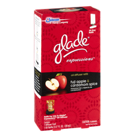 Glade Expressions Fuji Apple & Cardamom Spice Oil Diffuser Refill
