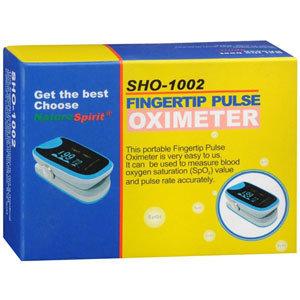 NatureSpirit Fingertip Pulse Oximeter with Color Display
