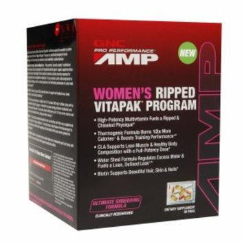 Gnc GNC Pro Performance AMP Women's Ripped Vitapak Program