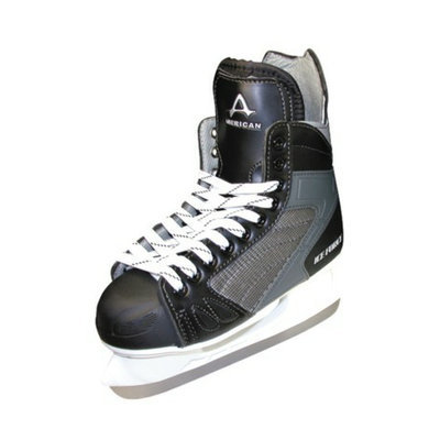 American Athletic Men's American Ice Force Hockey Skate - Black (7)