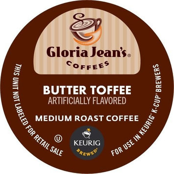 Keurig, Gloria Jean's, Butter Toffee, K-Cup Counts, 50 Count