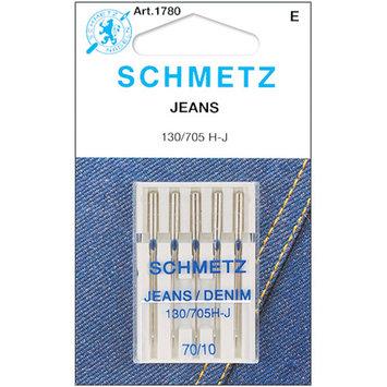 Euro-Notions Jean and Denim Machine Needles, Size 10/70, 5pk