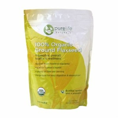 Pure Life Purelife Naturals 100% Organic Ground Flaxseed 14oz