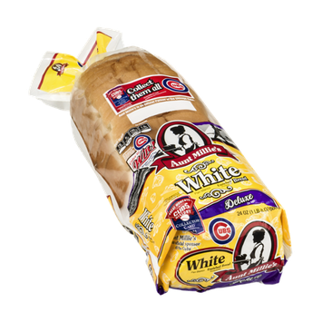 Aunt Millie's Deluxe Bread White