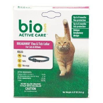 Bio Spot BioSpot Active Care F&T Collar for Cats and Kittens