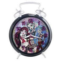 Monster High Twin Bell Alarm Clock - Black