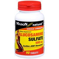 Mason Natural, Glucosamine Sulfate 500 mg, 90 Tablets