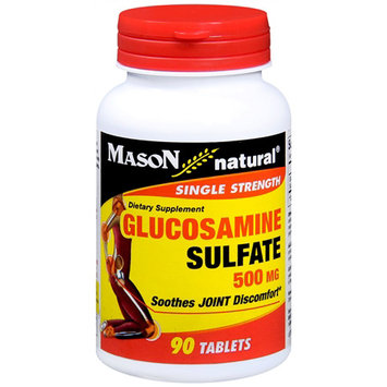 Mason Natural, Glucosamine Sulfate 500 mg, 90 Tablets