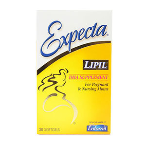 Enfamil Expecta Prenatal Supplement Capsules, 30 ea, Case of 12