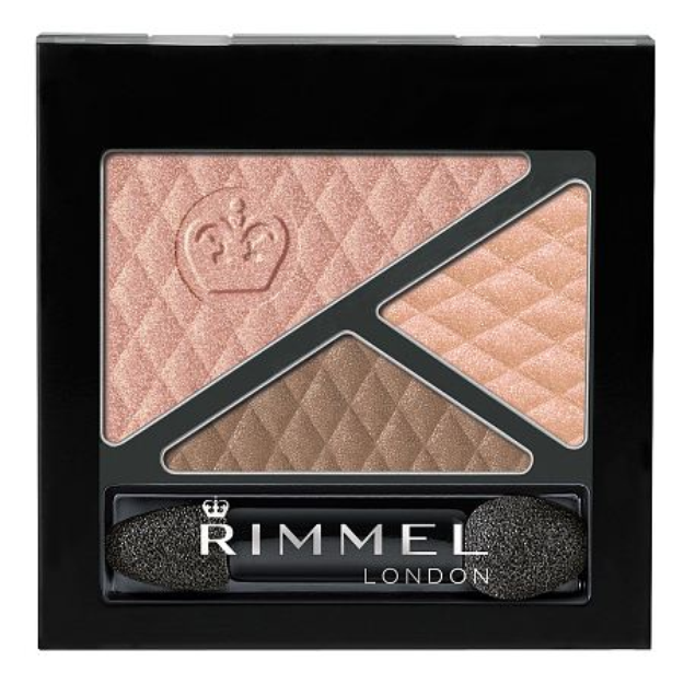 Rimmel Glam' Eyes Trio Eye Shadow, Spices, .15 oz