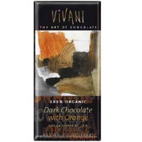 Vivani Chocolates BG19450 Vivani Chocolates Dark Chocolate Orange - 10x3. 5OZ