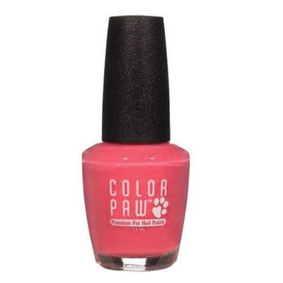 Top Performance Color Paw Dog and Cat Nail Polish, Sangria Shimmer