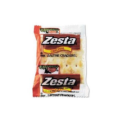Keebler Zesta Saltine Crackers, 2 Crackers/Pack, 300 Packs/Carton