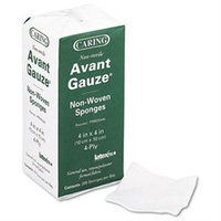 Medline Caring Non-Sterile Avant Gauze Non-Woven Sponges, 200 count