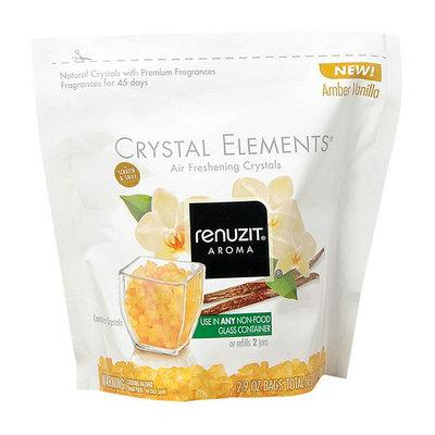 Renuzit Crystal Elements Air Freshening Crystals 2 PackAmber Vanilla